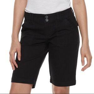 Unionbay Black Bermuda Shorts